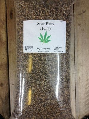 Hemp Seed Fishing Bait - Soar Tackle